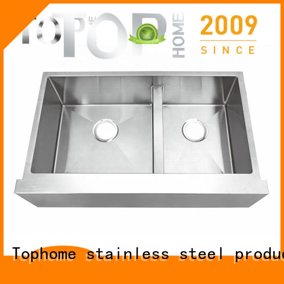 stainless apron sink front dewatering rapidly for cooking