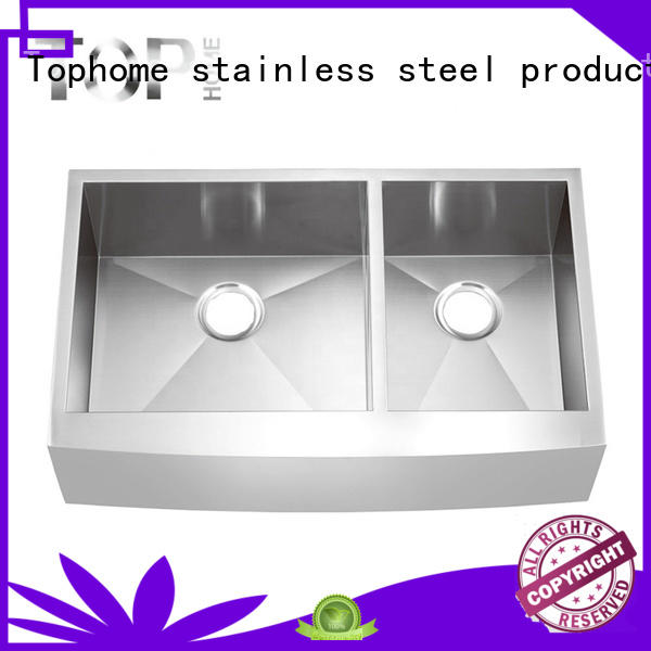 Top Home perfect double apron sink durable for countertop
