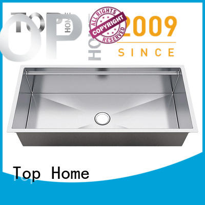 Top Home convenience stainless steel under mount sink manufacturer for restaurant