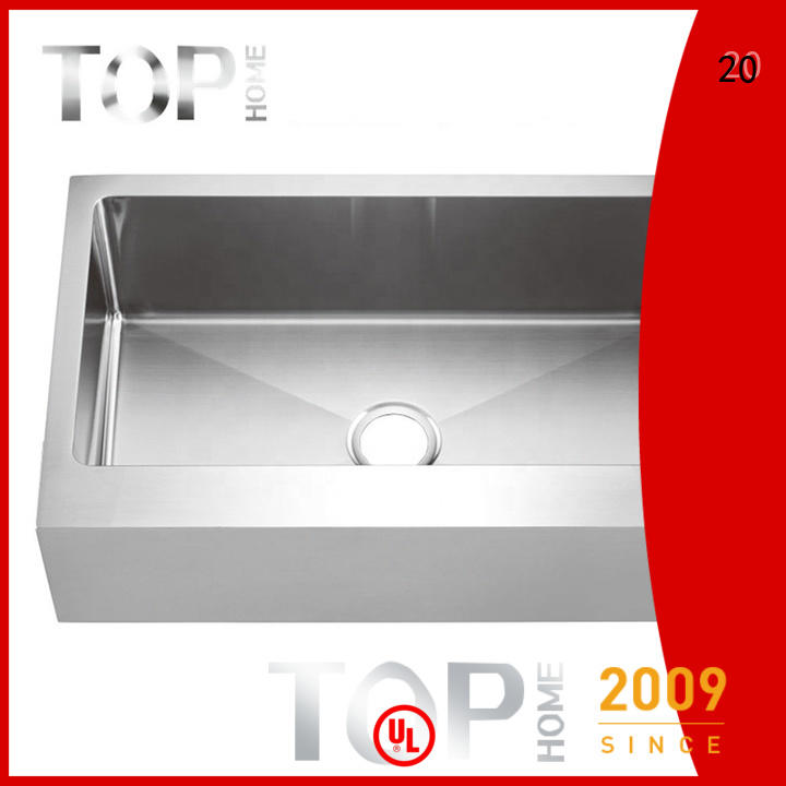 good quality double farmhouse sink apron dewatering rapidly for outdoor
