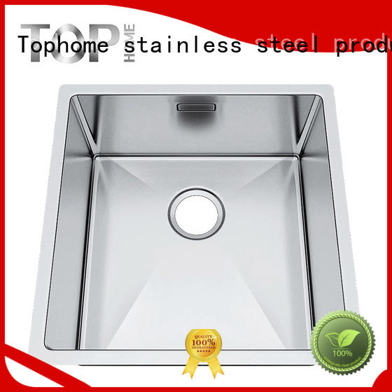 brushed black undermount kitchen sink sales single Top Home Brand