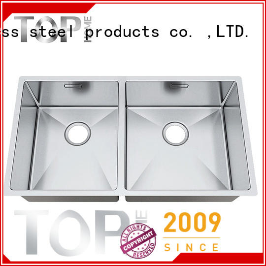 Top Home easy to clean stainless steel under mount sink convenience for cooking