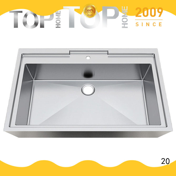 Top Home 304 stainless bathroom sink corner for bathroom