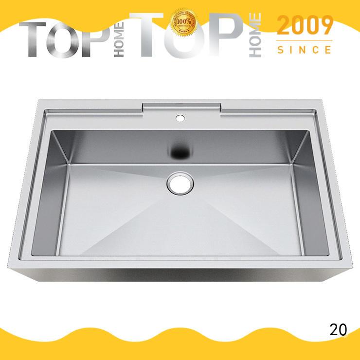 Top Home 304 stainless bathroom sink corner for bathroom