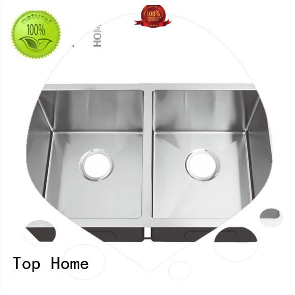Top Home industrial stainless steel under mount sink farmhouse restaurant