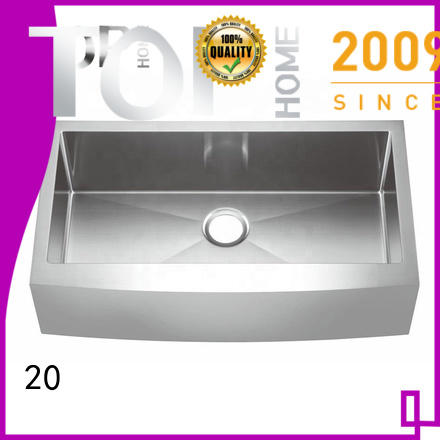 1618 stainless apron sink easy cleanning for countertop Top Home