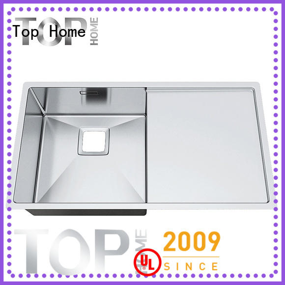 easy cleanning top mount apron sink tr3620bl easy installation kitchen