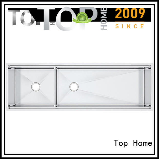Top Home radius stainless steel kitchen sinks wash easily for cooking