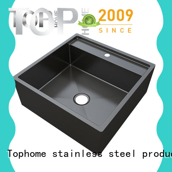 Top Home stainless kitchen sink dual mount metal for kitchen