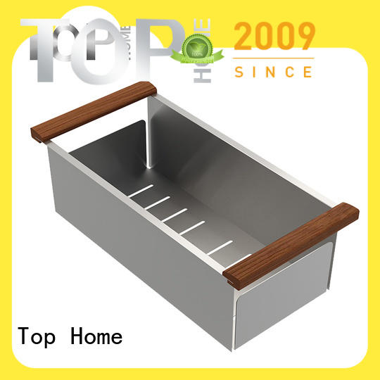 Top Home durable over the sink colander wash easily for kitchen item