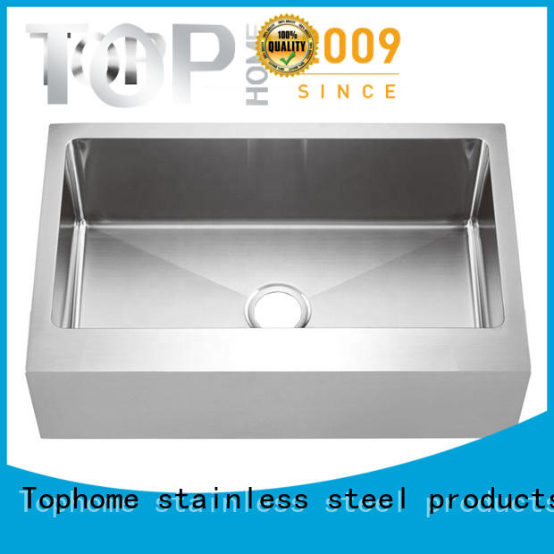 Top Home easy installation farmhouse kitchen sink dewatering rapidly for restaurant