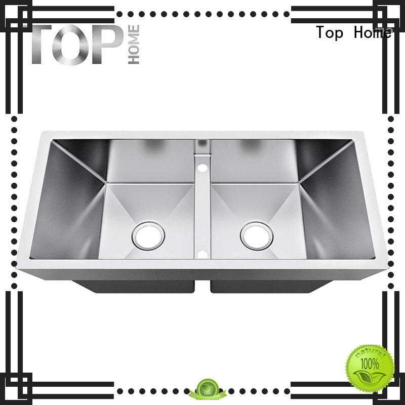 inch dropin bowls OEM top mount farmhouse sink Top Home