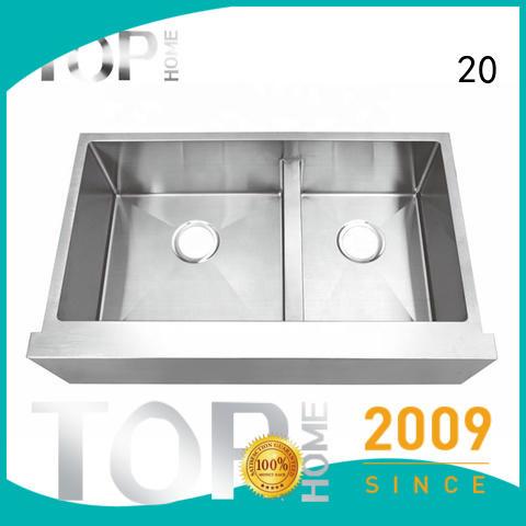 Top Home kitchen farm sink supplier for restaurant