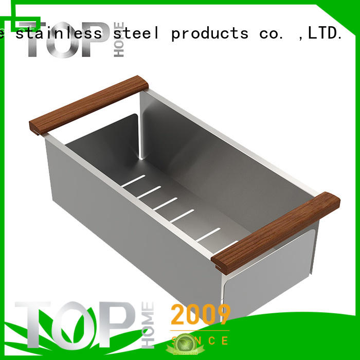 Top Home steel over sink colander wash easily for outdoor for for for countertop