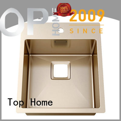 Top Home artist stainless steel bathroom sink