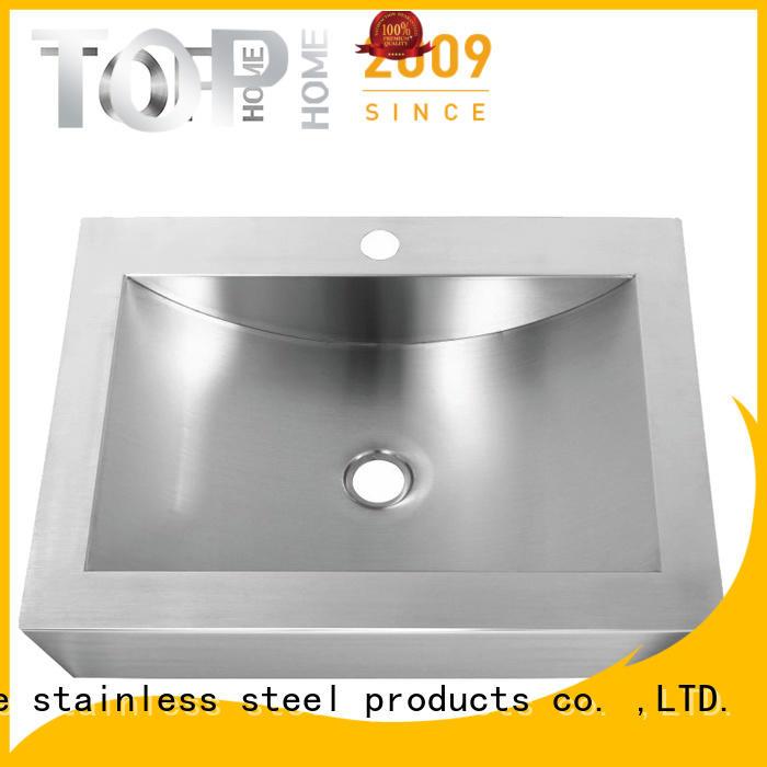 Top Home durable stainless steel bathroom sink corner for washroom
