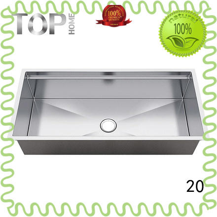 Top Home ldr5020c compartment commercial stainless sink online for cooking