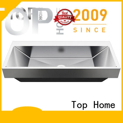 Modern stylish stainless steel bathroom sink r10r15r20 wholesale for laundry