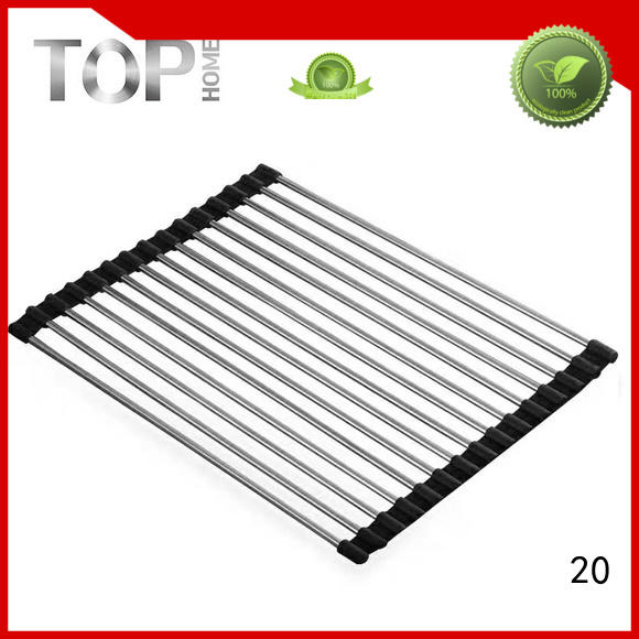 Top Home good quality stainless steel draining rack for sale for cooking