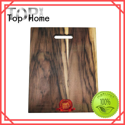 Top Home bamboo standard cutting board size easy cleanning for cooking