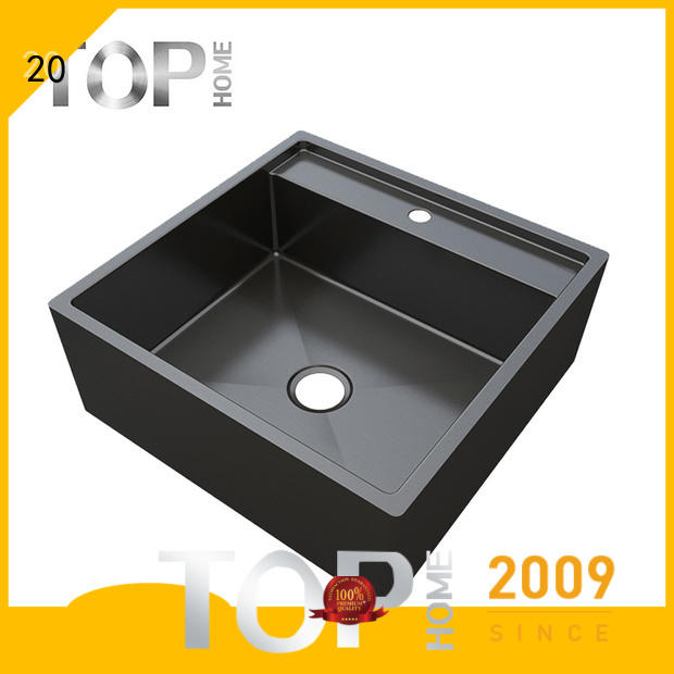 Top Home durability handmade kitchen sink factory price for farmhouse