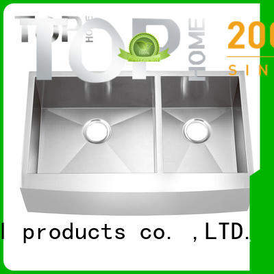 Top Home gauge stainless farmhouse sink durable for outdoor