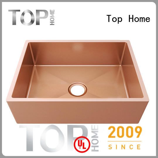 Top Home 304 kitchen sink design metal for farmhouse