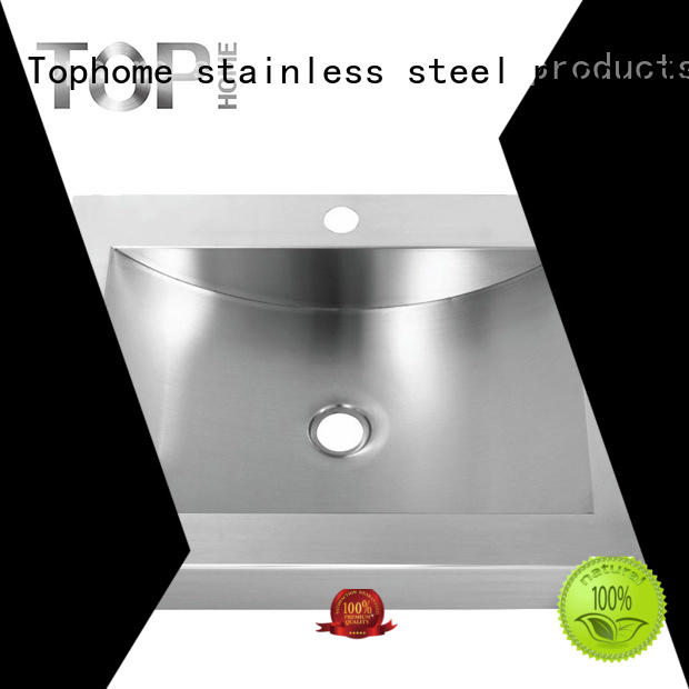 durability stainless steel bathroom vessel basin Top Home