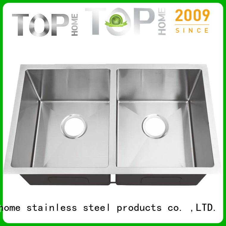Top Home thra3018c undermount stainless steel kitchen sink highest quality restaurant