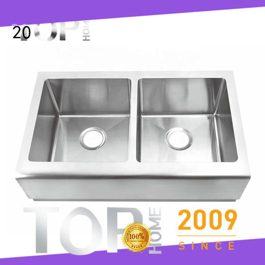 Top Home thap3620bl stainless apron sink supplier for countertop