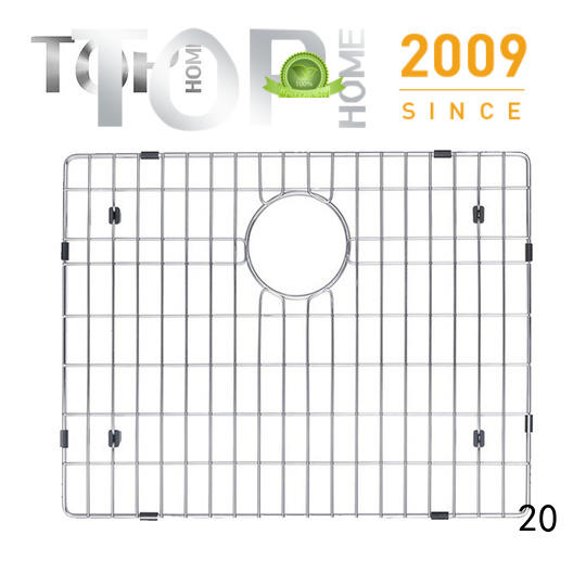 Top Home stainless stainless steel sink grid layout for cooking