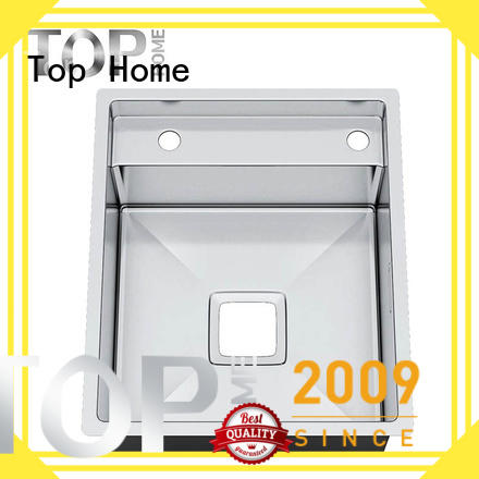 Top Home Double Bowls top mount kitchen sinks easy installation farmhouse