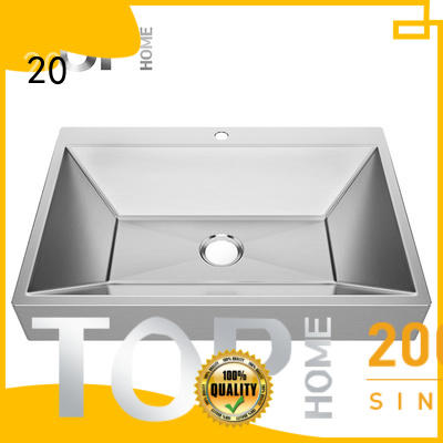 good quality stainless steel undermount bathroom sink rectangular fixtures for Lavatory