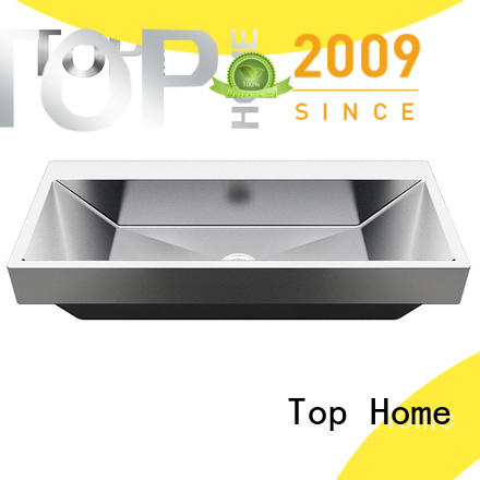 pedestal stainless steel bathroom sink 304 durability for Lavatory
