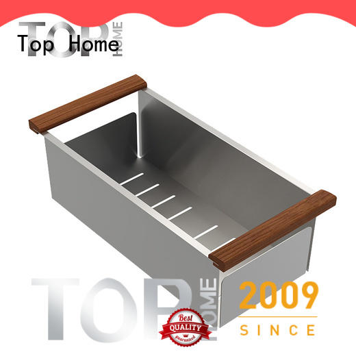 Top Home durable over sink colander directly sale for kitchen stuff