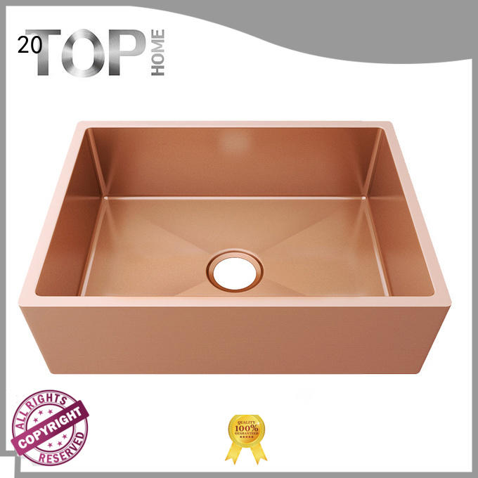 Top Home 4451s pvd kitchen sink metal for restaurant