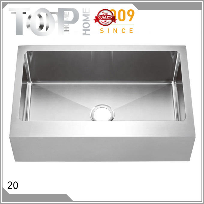Top Home perfect stainless farmhouse sink dewatering rapidly for kitchen