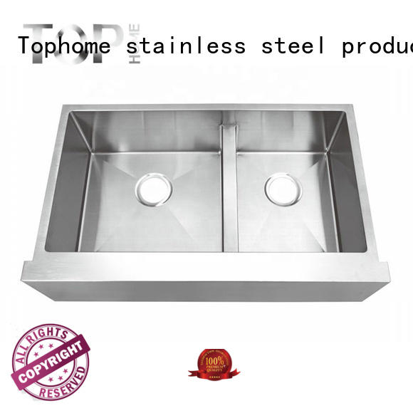 perfect stainless farmhouse sink easy cleanning for kitchen