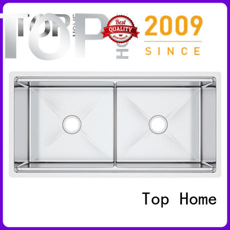 Top Home convenience stainless steel sink metal for outdoor