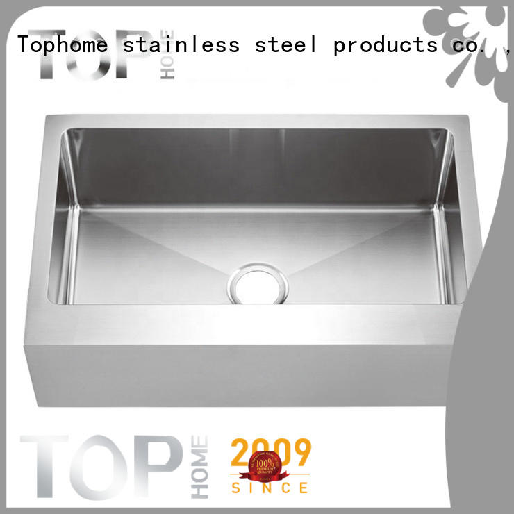 Top Home easy installation kitchen farm sinks easy cleanning for countertop