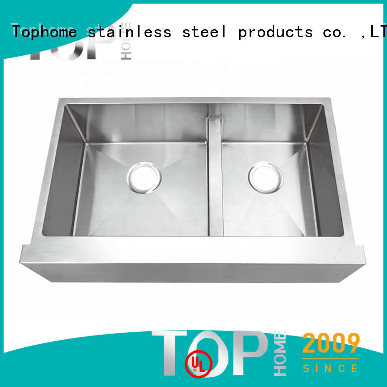 Top Home easy installation drop in apron sink easy cleanning for cooking