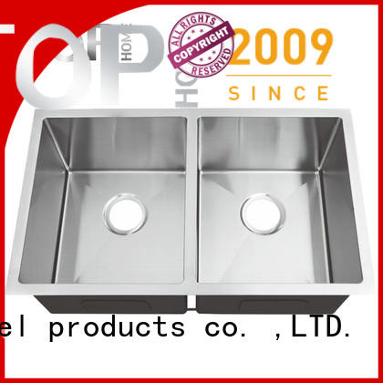Top Home 8044br stainless steel kitchen sink durability restaurant