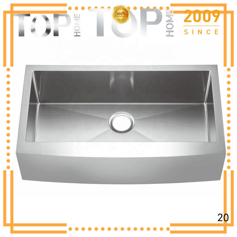 Top Home drop in apron sink easy cleanning restaurant