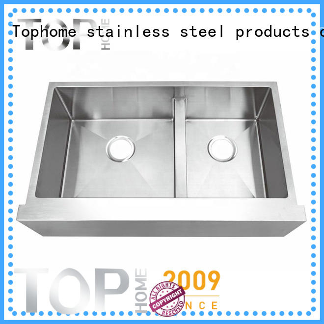 Top Home perfect stainless steel farmhouse sink durable for kitchen