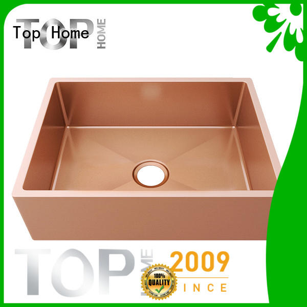 Top Home mounting types of kitchen sinks double bowls for farmhouse
