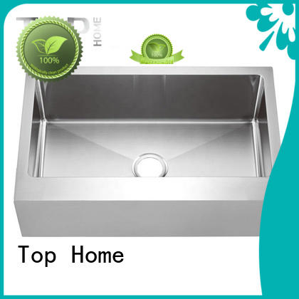 easy installation stainless steel apron sink dewatering rapidly for countertop