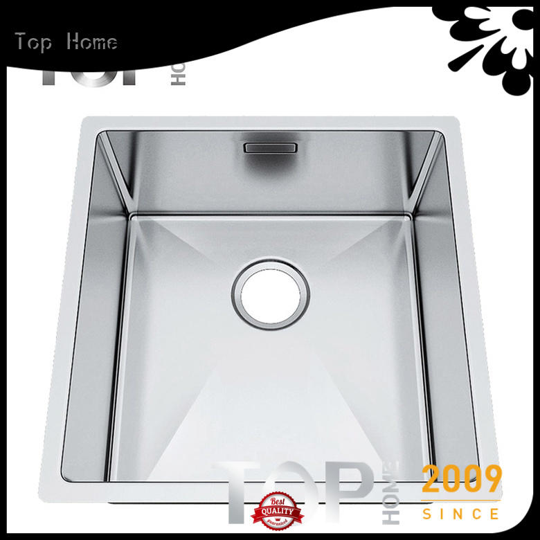 Top Home industrial undermount kitchen sink durability for cooking