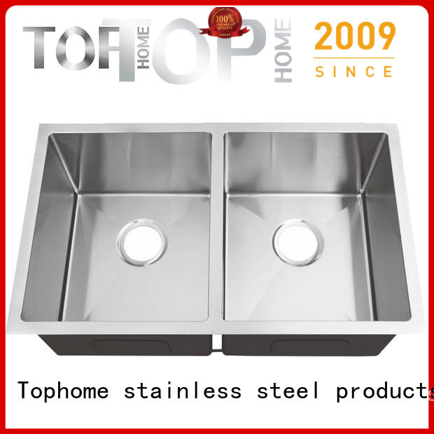 Top Home handmade stainless steel under mount sink highest quality for cooking