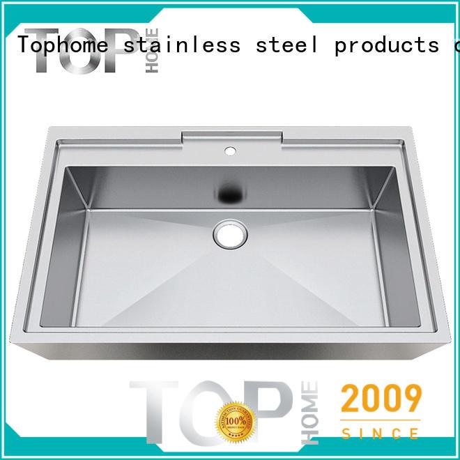 Modern stylish stainless steel undermount bathroom sink apbr4227s durability for bathroom
