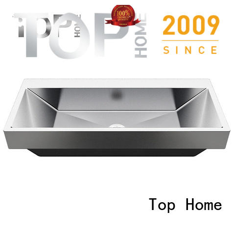 Top Home durable commercial stainless steel bathroom sinks basin for laundry